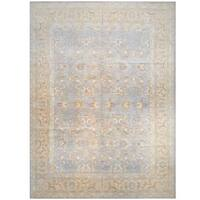 Herat Oriental Afghan Hand-knotted Vegetable Dye Wool Rug - 13' x 17'5