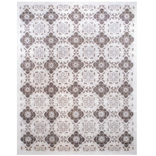 Herat Oriental Afghan Hand-knotted Vegetable-dyed Wool Rug (11'6 x 16')