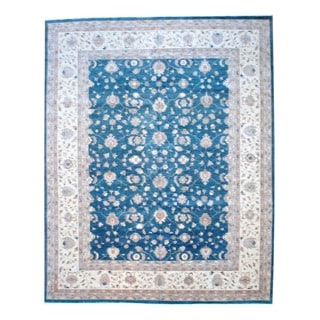 Herat Oriental Afghan Hand-knotted Vegetable-dyed Wool Rug (11'9 x 14'9)