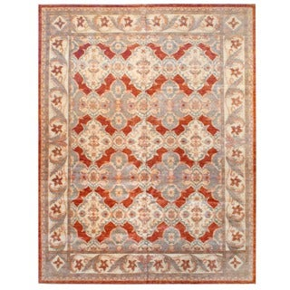 Herat Oriental Afghan Hand-knotted Vegetable-dyed Wool Rug (11'9 x 15'5)