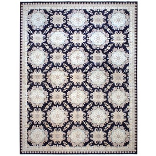 Herat Oriental Afghan Hand-knotted Vegetable-dyed Wool Rug (12' x 15'8)