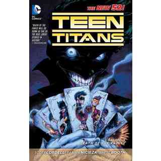 Teen Titans the New 52! 3: Death of the Family (The New 52!) (Paperback)