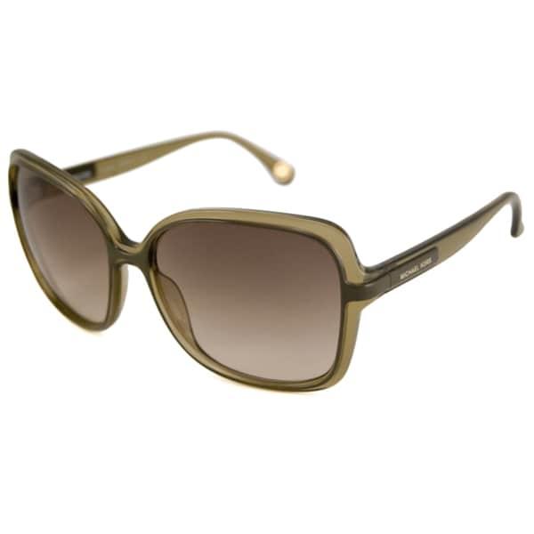 Michael Michael Kors Women's M2807S Redonda Rectangular Sunglasses