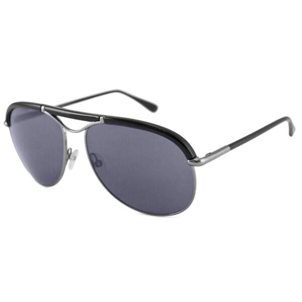Tom Ford Men's TF0235 Impact Resistant Marco Aviator Sunglasses