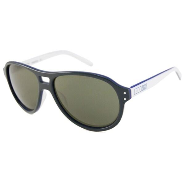 Nike Men's/Unisex Two-tone Vintage 81 Aviator Sunglasses
