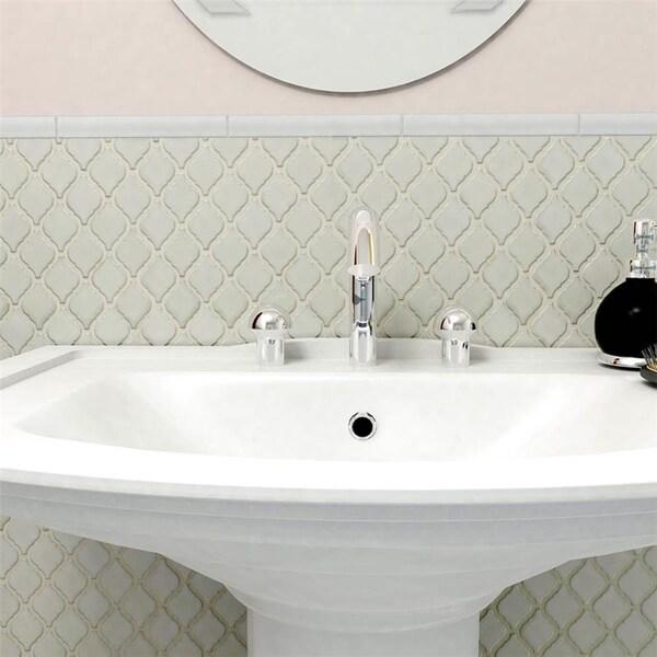 SomerTile 9.875x11.125-inch Casablanca Selene Porcelain Mosaic Floor and Wall Tile (Case of 10)