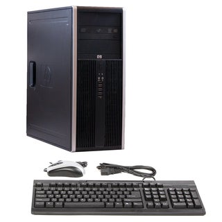 HP Compaq 8000 Intel Core 2 Duo 3.33GHz CPU 4GB RAM 750GB HDD Windows 10 Home Minitower Computer (Refurbished)