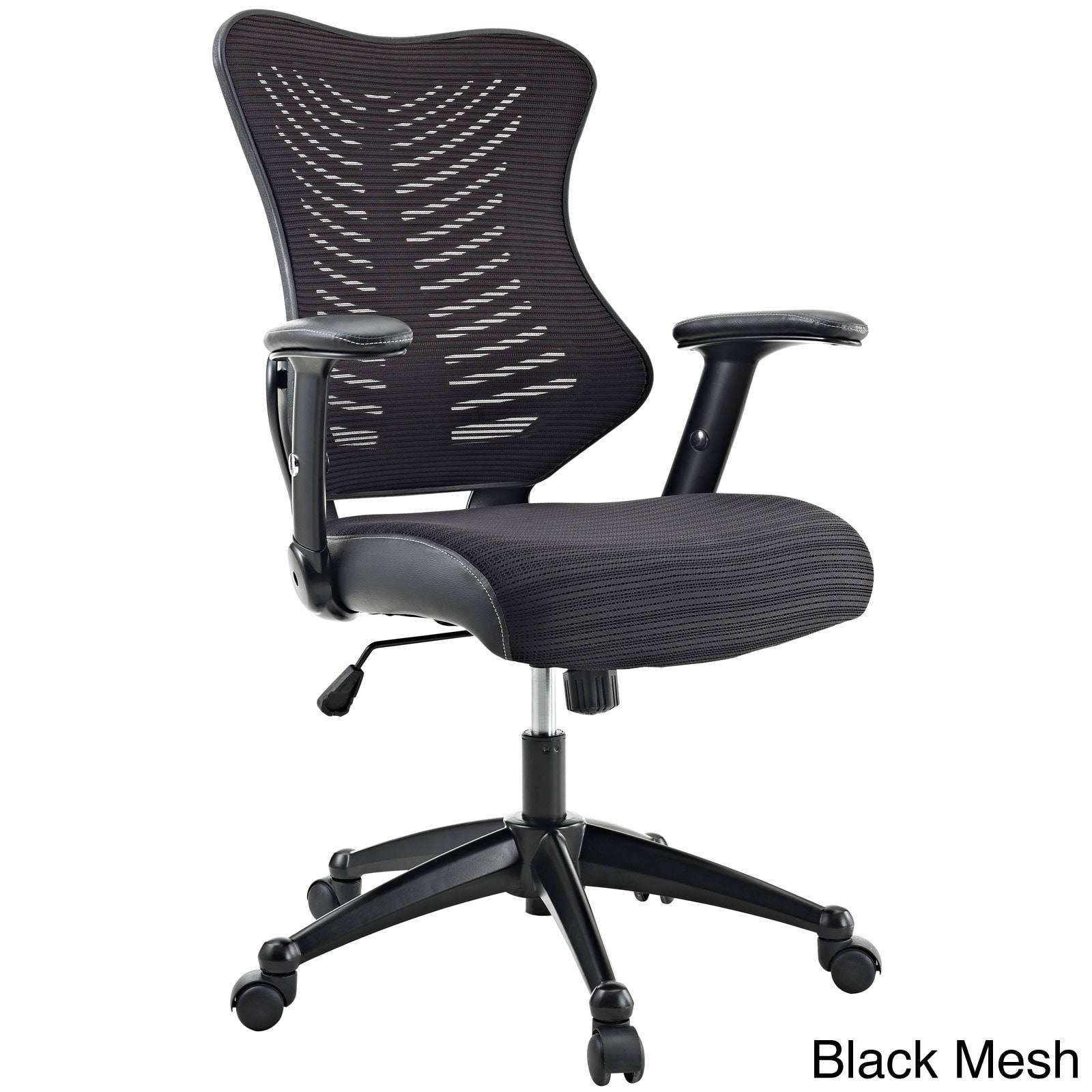 Clutch fice Chair with Black Mesh Back and Seat Free Shipping