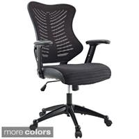 Clay Alder Home Williamsburg Office Chair with Black Mesh Back and Seat
