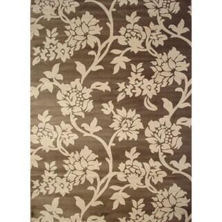 Floradora Beige Area Rug (6'6 x 9'5)
