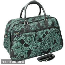 World Traveler Fashion/Travel Bandana 21-inch Carry On Shoulder Tote Duffel Bag https://ak1.ostkcdn.com/images/products/7923760/World-Traveler-Fashion-Travel-Bandana-21-inch-Carry-On-Shoulder-Tote-Duffel-Bag-P15300483.jpg?impolicy=medium