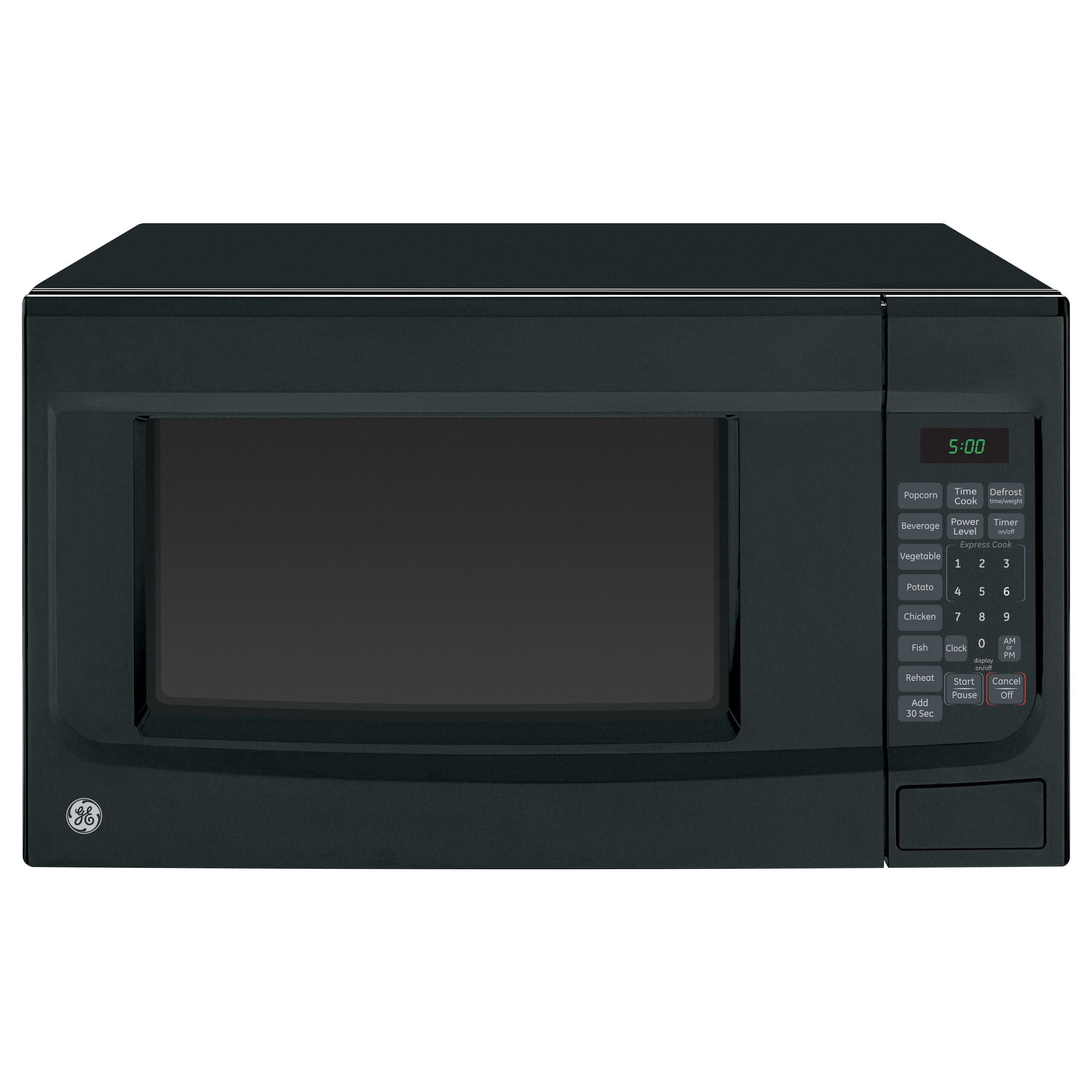 GE Black 1.4-cubic foot Countertop Microwave Oven GE JES1460DSBB 1.4 cuft. Countertop Microwave Oven