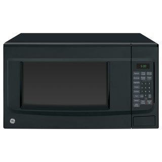 GE Black 1.4-cubic foot Countertop Microwave Oven
