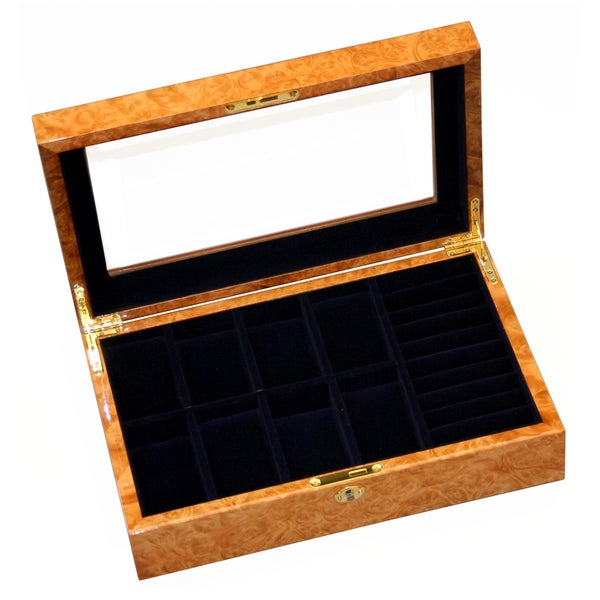Wooden Watch/Ring Collection Box