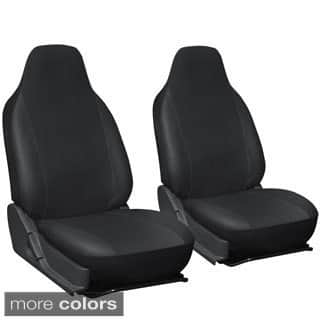 Oxgord Faux Leather Integrated High Back Bucket Seat Covers - Universal Fit for Cars, Trucks, SUVs and Vans|https://ak1.ostkcdn.com/images/products/7923844/P15300539.jpg?impolicy=medium