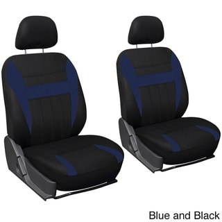 Oxgord 4-piece Universal Fit Cloth Bucket Seat Cover Set