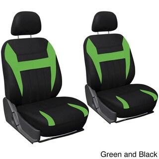 Oxgord 4-piece Universal Fit Cloth Bucket Seat Cover Set