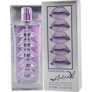 Purplelight by Salvador Dali Women's 3.4-ounce Eau de Toilette Spray