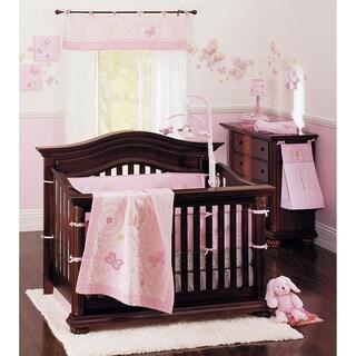 Crown Crafts Olivia Crib Bedding Set