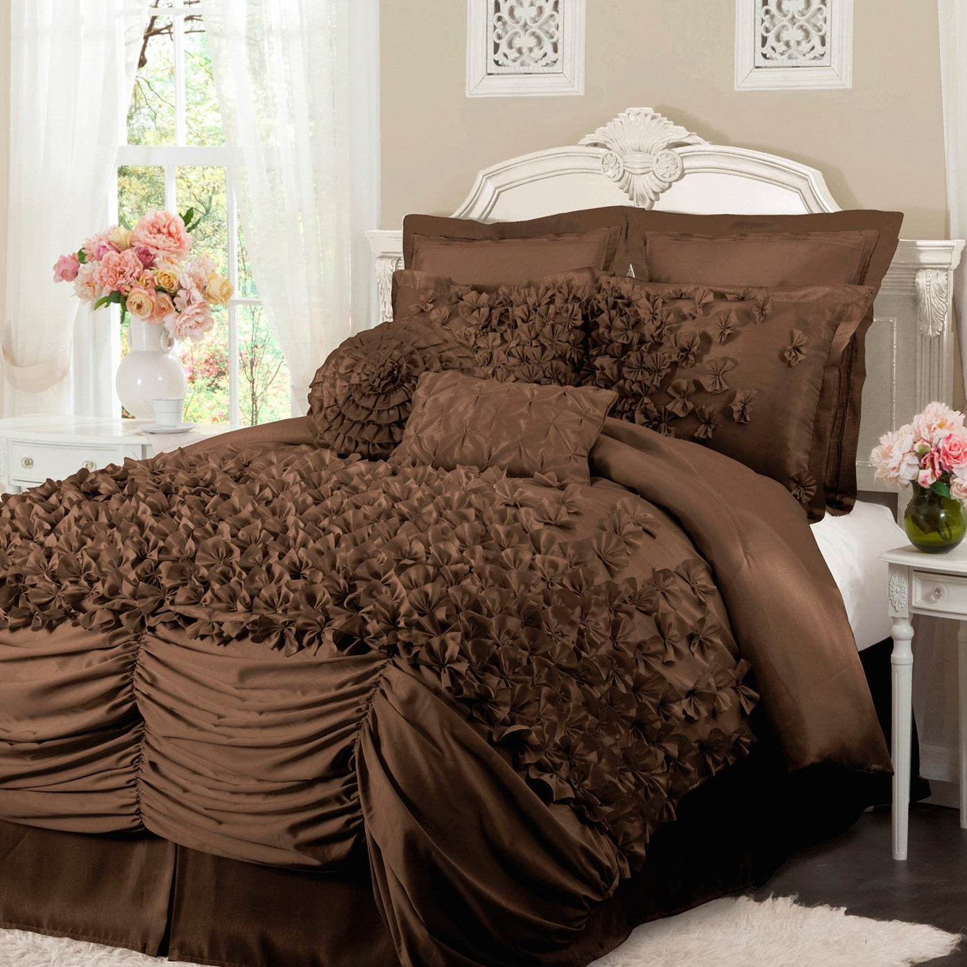 on comforter set bedding white isabella madison bath park com orders product free shipping overstock bed