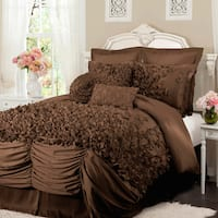 The Gray Barn Epiphany 4-piece Ruffled Comforter Set