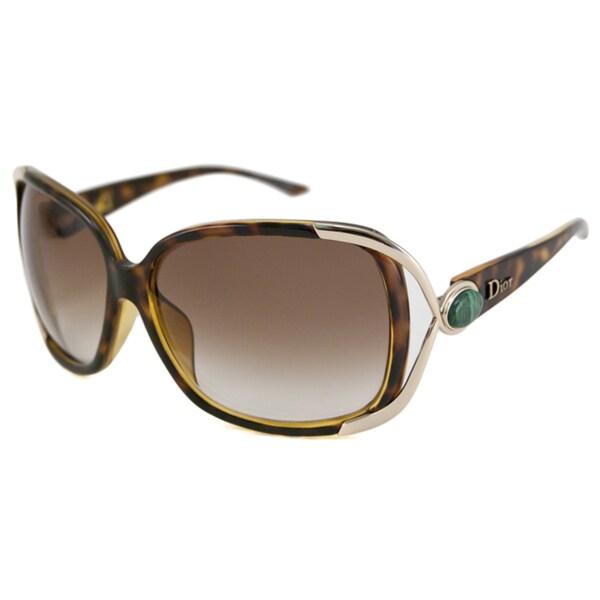 90fa4f7e425 Christian Dior Women  x27 s Dior Copacabana 2 F Rectangular Sunglasses