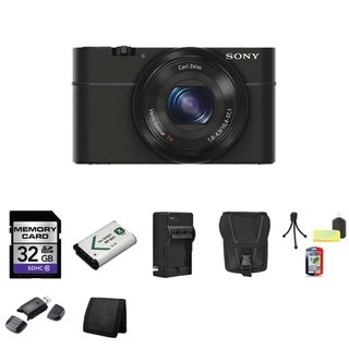 Sony Cyber-shot DSC-RX100 20.2MP Digital Camera with 32GB Bundle 2