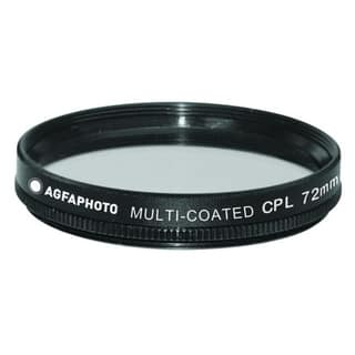 Agfa 72mm Digital Multi-Coated Circular Polarizing (CPL) Filter APCPF72|https://ak1.ostkcdn.com/images/products/7924080/7924080/Agfa-72mm-Digital-Multi-Coated-Circular-Polarizing-CPL-Filter-APCPF72-P15300908.jpg?impolicy=medium