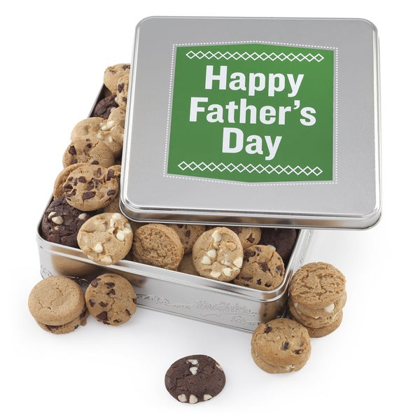 Mrs. Fields Father's Day Cookie Tin
