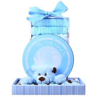 Alder Creek Gift Baskets 'Beary Cuddly Blue' Gift Box