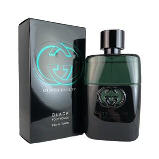 Gucci Guilty Black Pour Homme Men's 1.6-ounce Eau de Toilette Spray