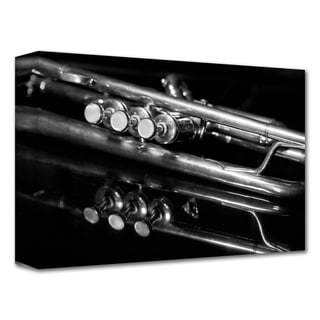 Dan Holm 'Valves' Gallery-Wrapped Canvas