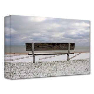 Dan Holm 'Outlook' Gallery-Wrapped Canvas