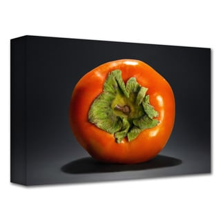 Dan Holm 'Persimmon' Gallery-Wrapped Canvas