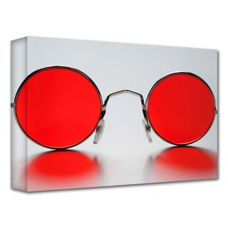 Dan Holm 'Rose Colored Glasses' Gallery-Wrapped Canvas