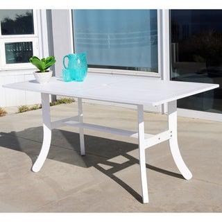 Bradley Outdoor Wood Rectangular Dining Table
