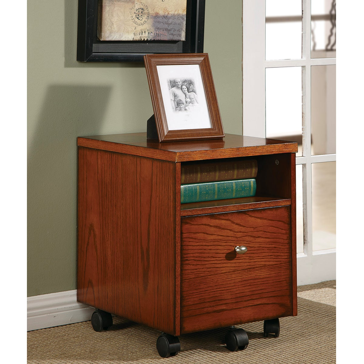 Copper Grove Holmsley Wood And Veneer Mobile File Cabinet Free Shipping On Orders Over 45 7924359