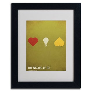 Christian Jackson 'Wizard of Oz' Framed Matted Art