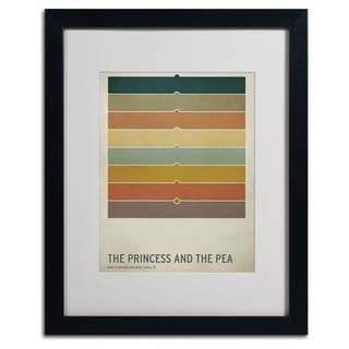 Christian Jackson 'Princess and the Pea' Framed Matted Art
