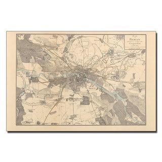 Schneider 'Map of Berlin, 1802' Canvas Art