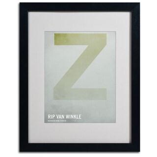 Christian Jackson 'Rip Van Winkle' Framed Giclee Print Matted Art