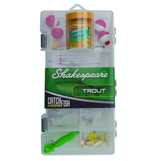 Shakespeare Trout Tackle Box Kit