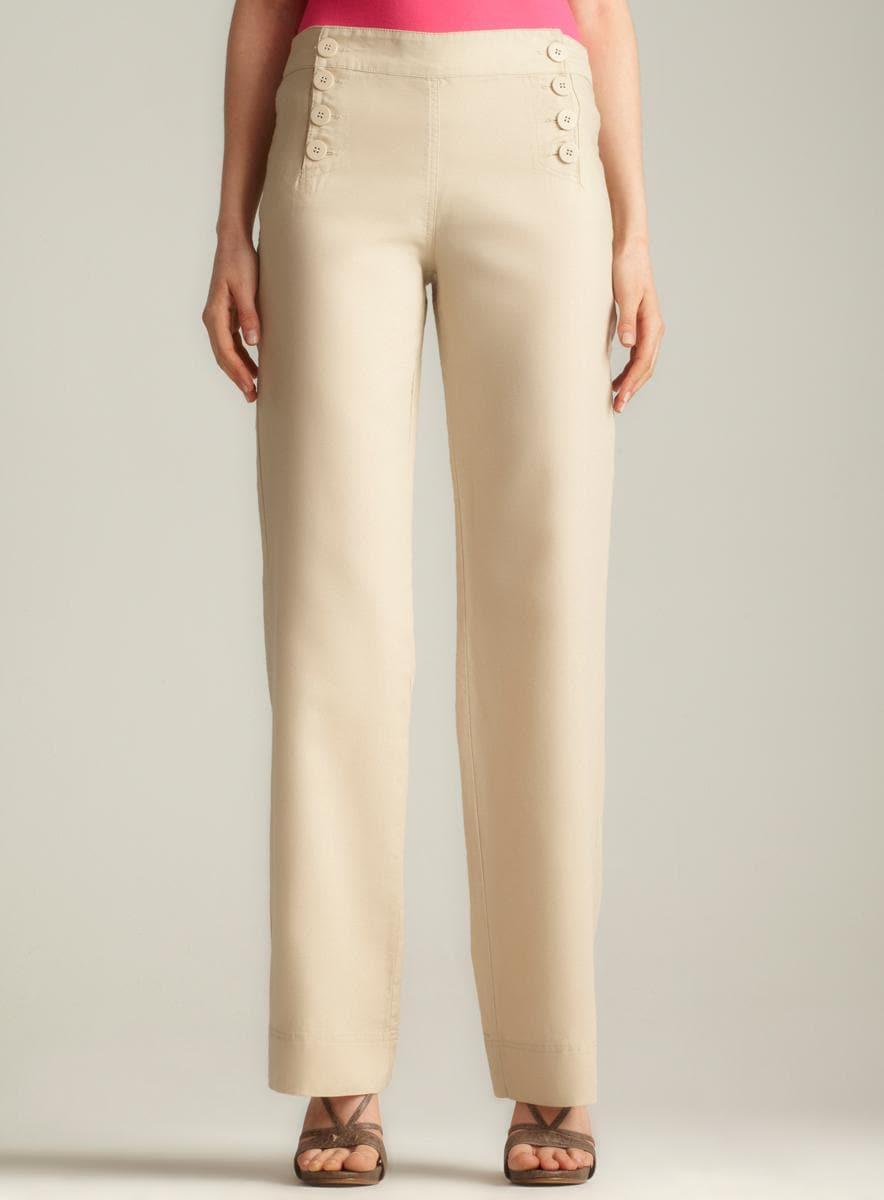 Max Studio Linen Trousers