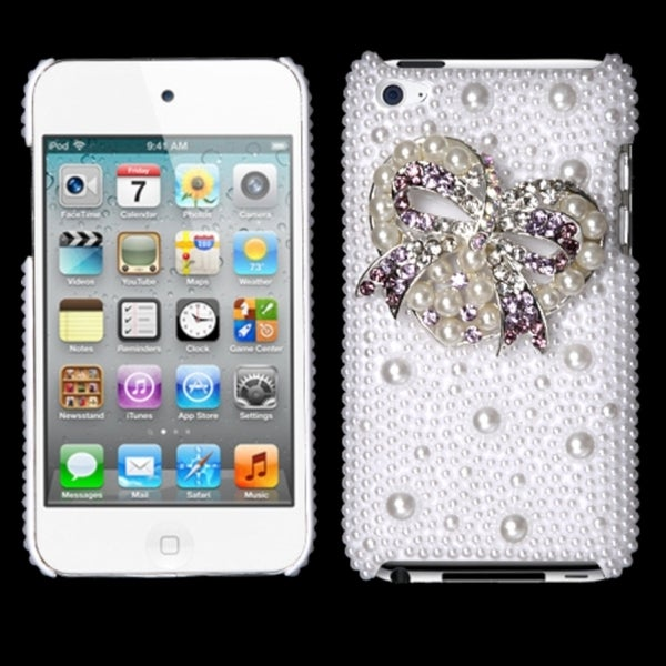 INSTEN Diamante Phone Case Cover for Apple iPod Touch 4th Generation