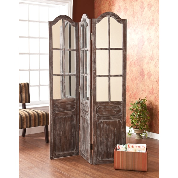 Shop Upton Home Asbury 3 Panel Screen Room Divider Free Shipping