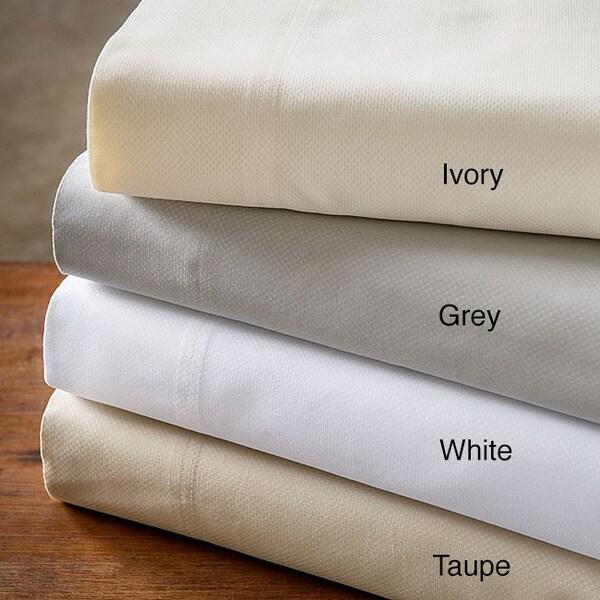 500 Thread Count Cotton Blend Micro Check 6-piece Sheet Set