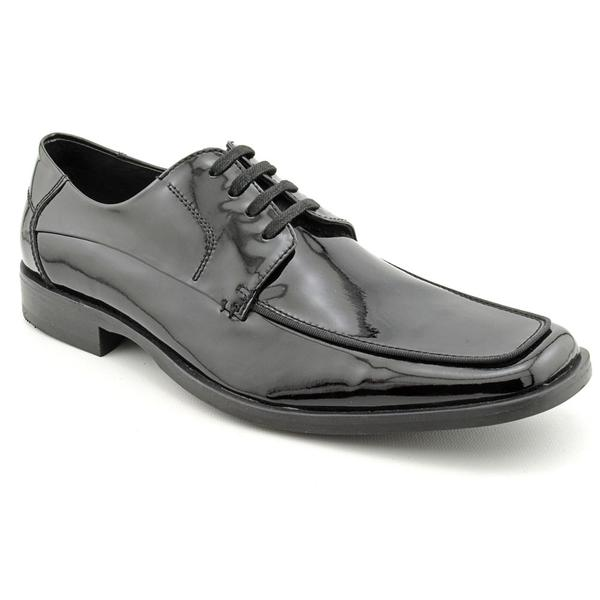 Kenneth Cole NY Men's 'Look Ur Best' Patent Leather Dress Shoes (Size 10.5)