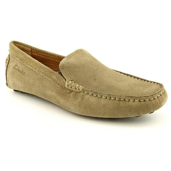 Clarks Men's 'Clutch Fluid' Regular Suede Casual Shoes