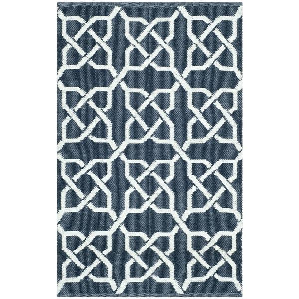 shop thom filicia hand woven indoor outdoor ink plastic rug 2 39 6 x 4 39 on sale free. Black Bedroom Furniture Sets. Home Design Ideas
