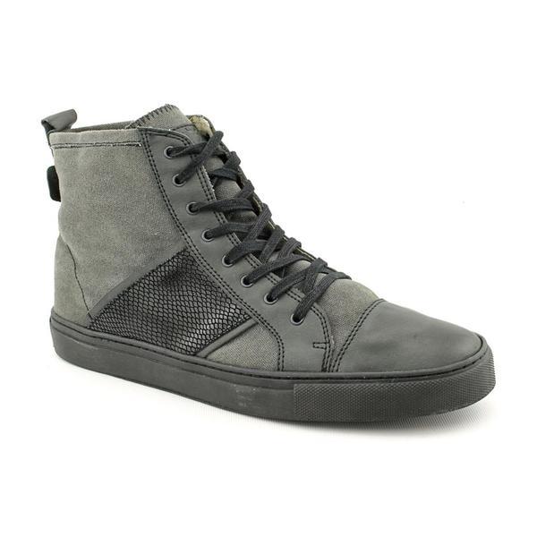 FIVE by Rio Ferdinand Men's 'Luke' Basic Textile Boots (Size 12)